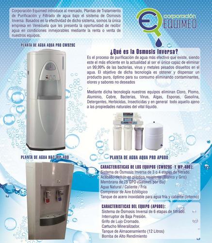 planta de tratamiento de agua por osmosis inversa aquapro