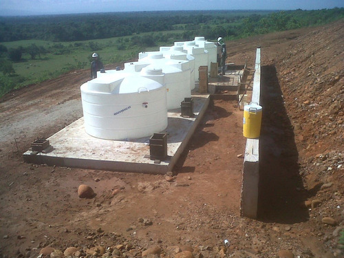 planta de tratamiento de aguas negras o servidas aerobica