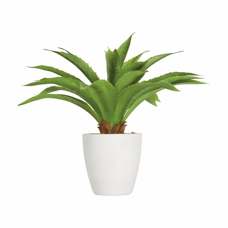 planta decorativa artificial sabila biasi en
