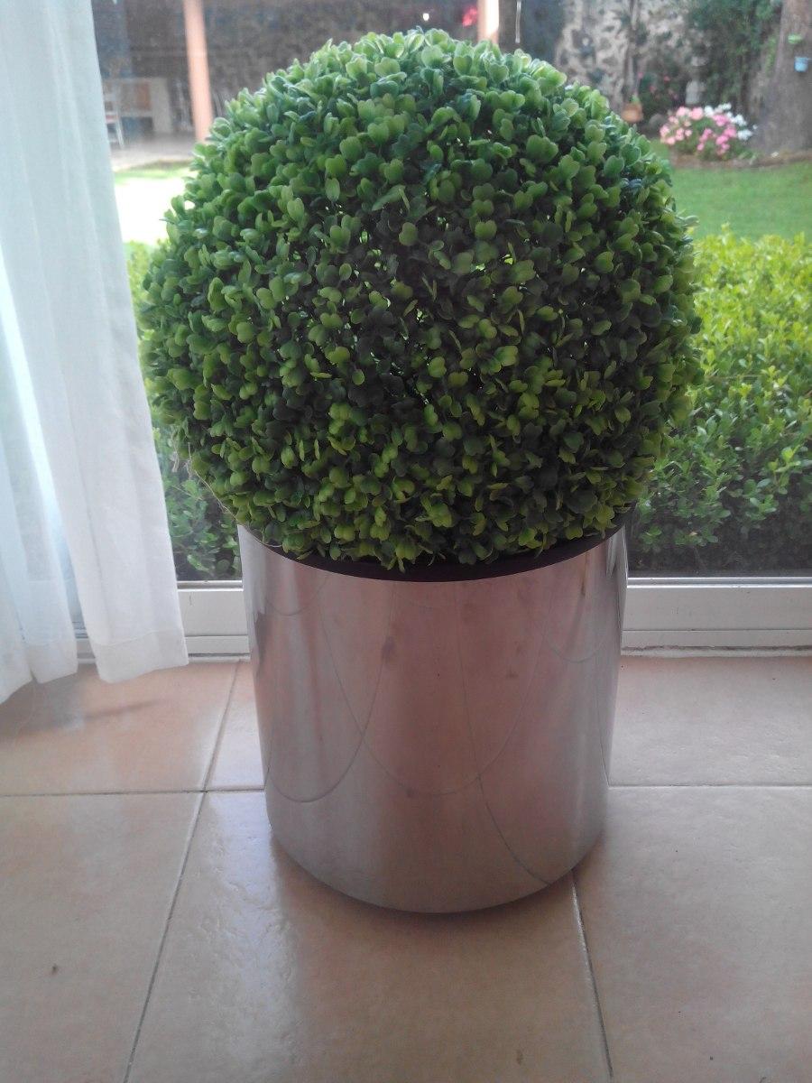 Planta decorativa topiario artificial 2 en for Plantas artificiales para exterior