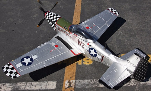 planta do aeromodelo mustang p-51 giant scale