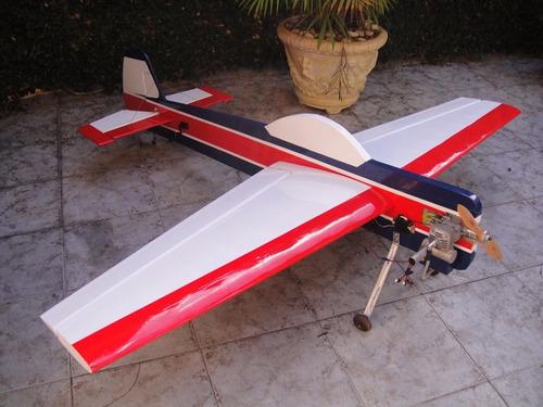 planta do aeromodelo yak 55m perfilado - corte a laser