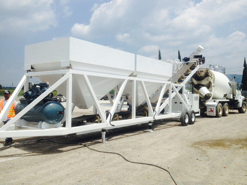 planta dosificadoras de concreto movil