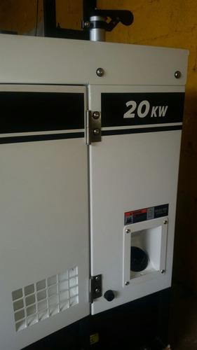 planta electrica 20kw supersilenciosa