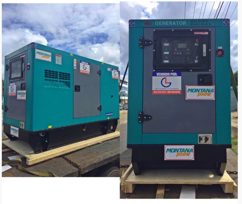planta electrica 55 kw isuzu / generador denyo / stamford