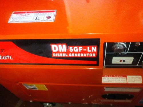 planta electrica 6.5kva diesel negociable