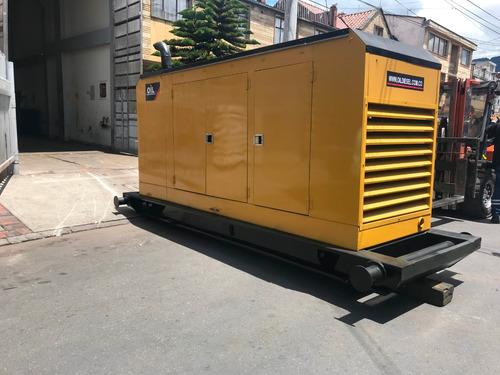 planta eléctrica cummins diesel 200 kva