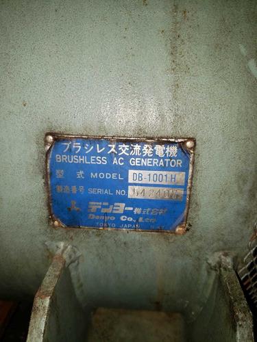 planta eléctrica de 220 - 440 marca denyo japonesa