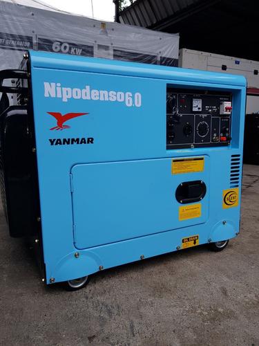 planta electrica de 6 kw nueva diesel