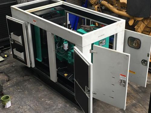 planta eléctrica diésel 40 - 50 kva  garantizada original