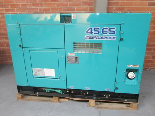 planta eléctrica diesel 45 kva denyo (japonesa) - nueva