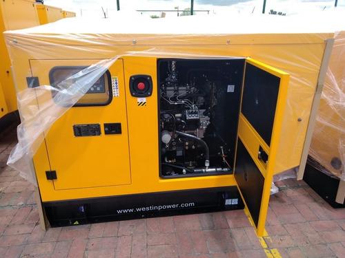 planta electrica diesel 50 kva cabina silenciosa 100% nueva