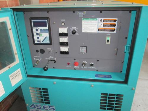 planta eléctrica diesel  denyo (japonesa) de 45 kva - nueva