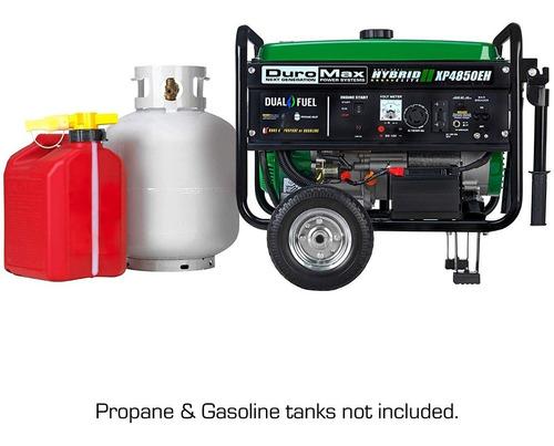 planta electrica duromax xp4850eh gas propano y gasolina