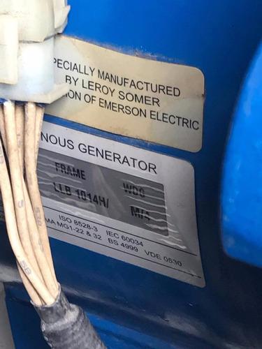 planta eléctrica fgwilson 12.5 kilos silenciosa