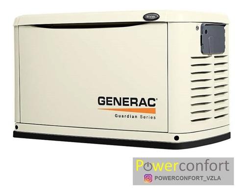 planta eléctrica gas  generac 10, 13, 16, 20, 22 y 24 kw