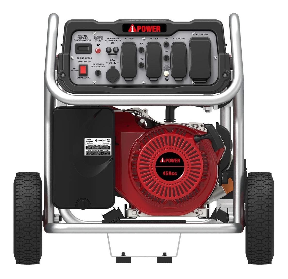 Planta Electrica Ipower Sua 12000w 110-220v Usb 12v Gasolina