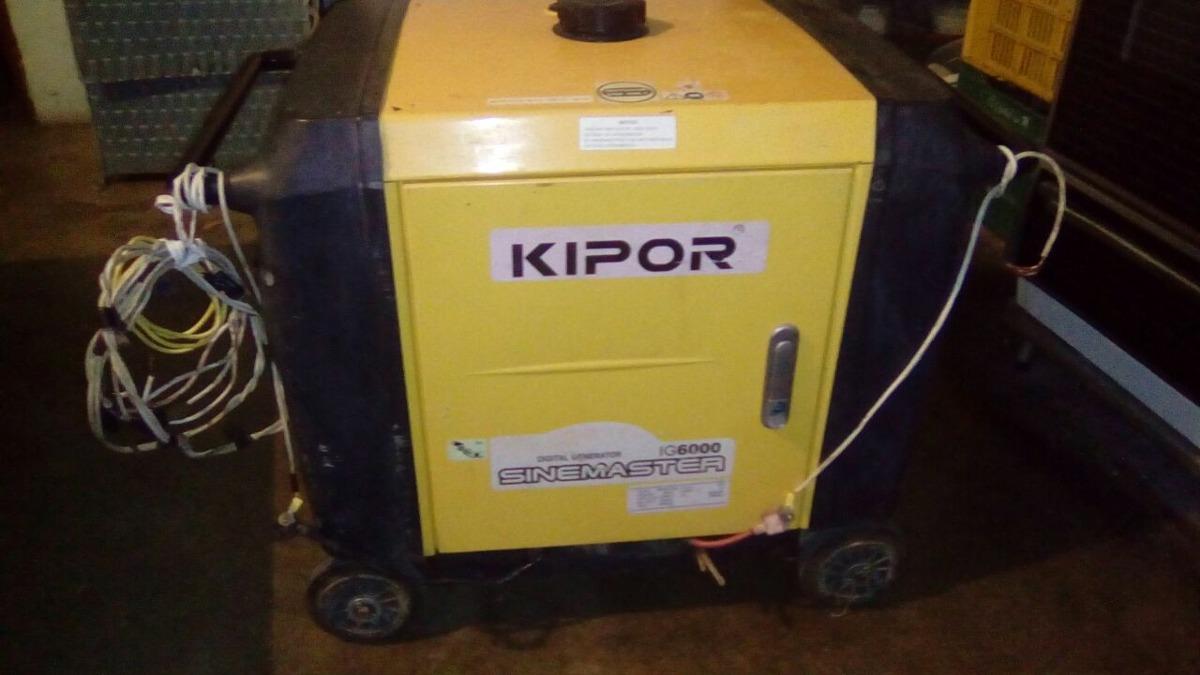 Planta Electrica Kipor Ig6000