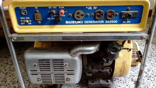 planta electrica o generador. marca suzuki