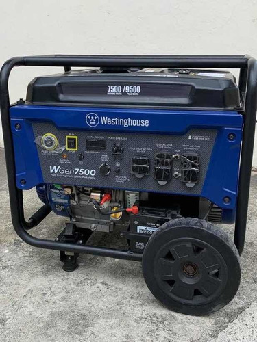 planta eléctrica  westinghouse 7500/9500, 110/220