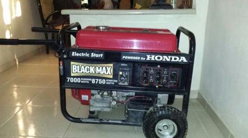 planta electrica/generador electrico honda blackmax 7000