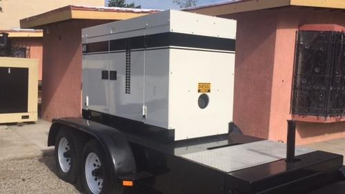 planta generador de luz 45 kva multiquip  diesel nacional