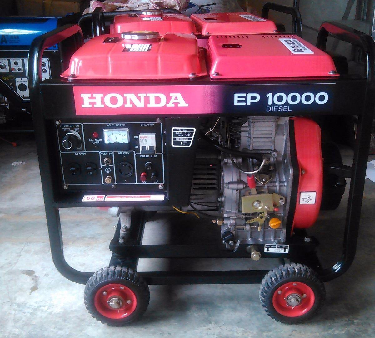 Planta generador electrico honda 10kva a diesel bs 6 for Generador electrico honda precio