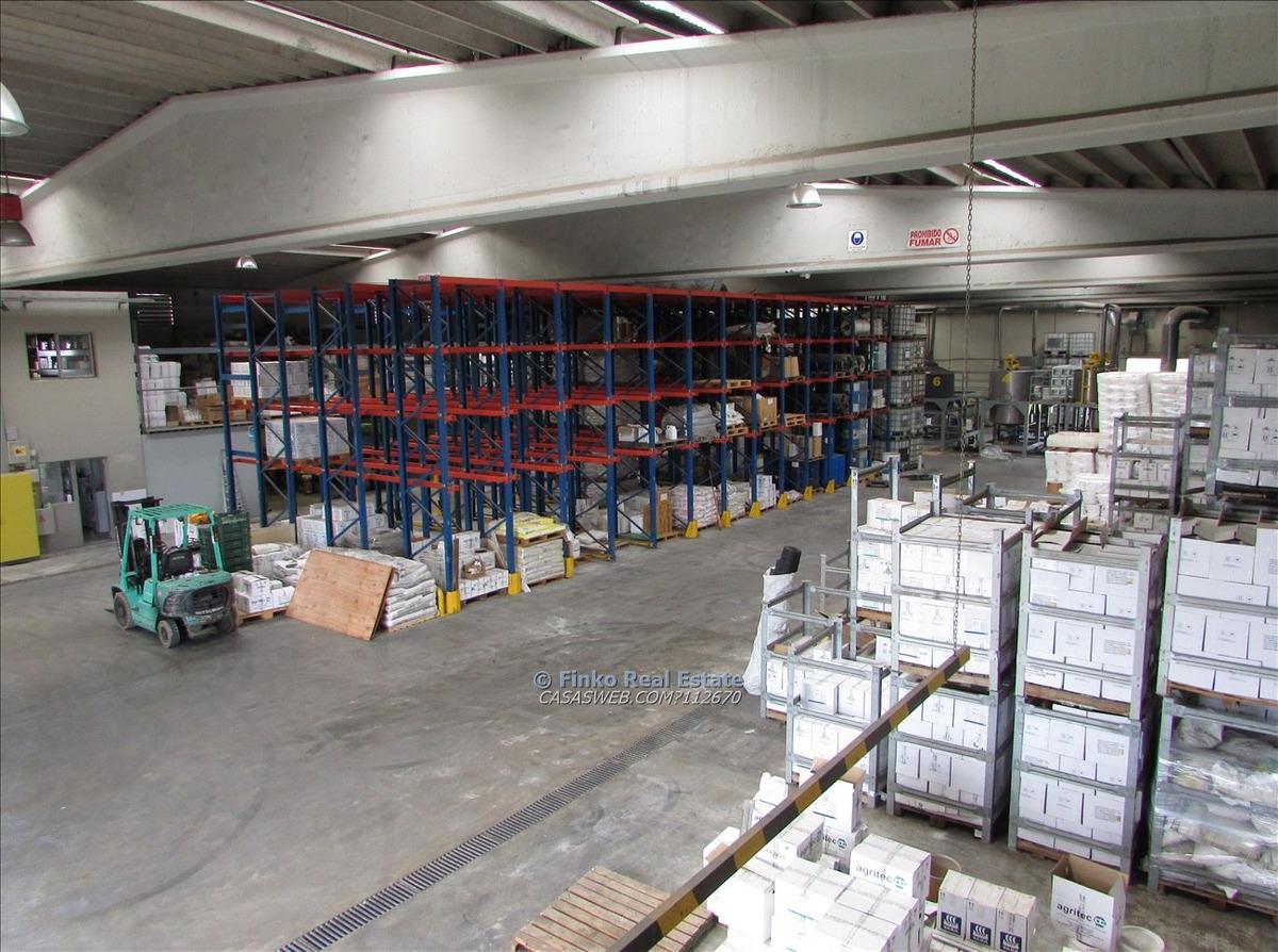 planta industrial a metros del parque agroalimentario
