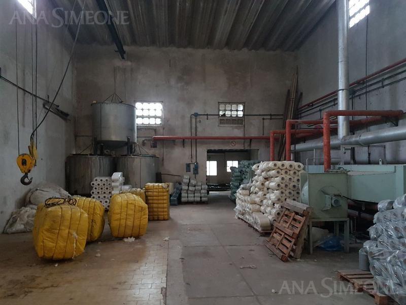 planta industrial/ depósito de 1700 m2 cubiertos totales