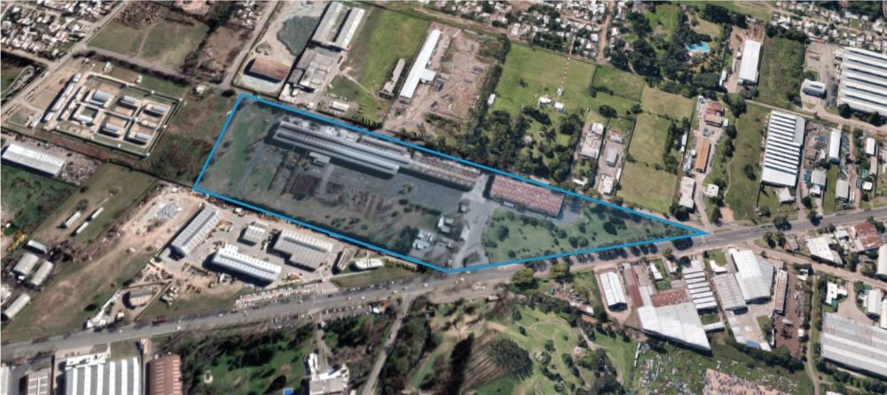 planta industrial venta av. presidente perón 8000, rosario