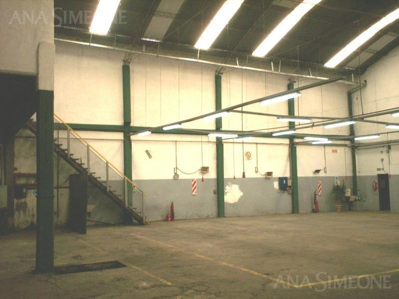 planta industrial/depósito 863m2 venta con renta