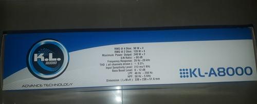 planta kl a8000 2500w 4ch