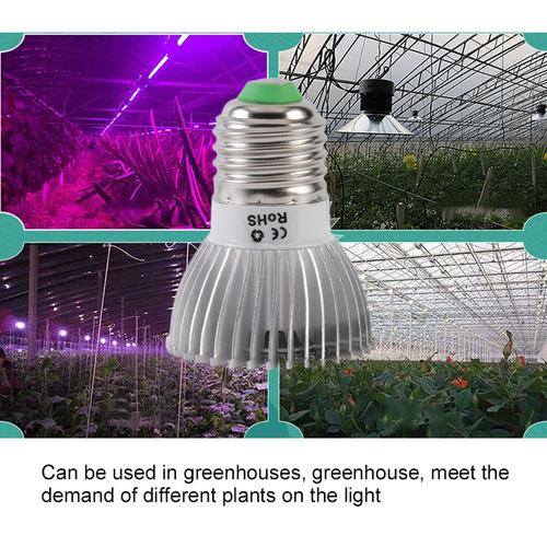 planta led crescer luz e27 hidroponia para interior estufa f