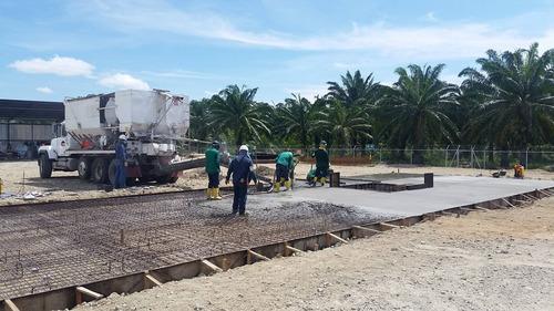 planta movil de concretos, planta mezcladora de concretos.