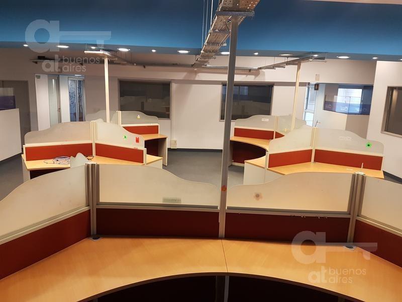 planta oficina, venta o alquiler 611m2, 3 cocheras - barrio norte