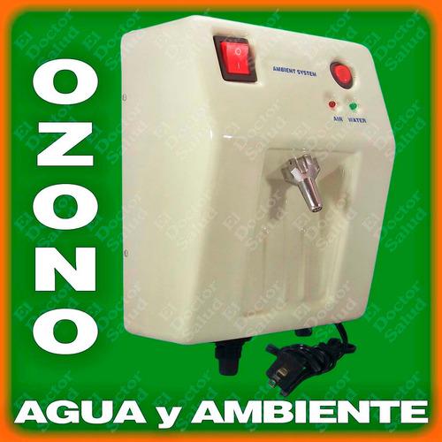 planta ozono ambient dual - fija bg + filtro agua + obsequio