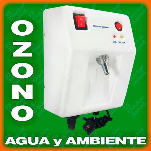 planta ozono ambient dual fija bl filtro agua compacto kit