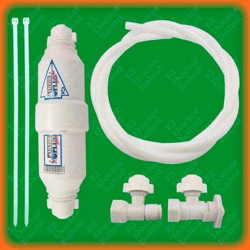 planta ozono ambient dual - fija bl + filtro agua + obsequio