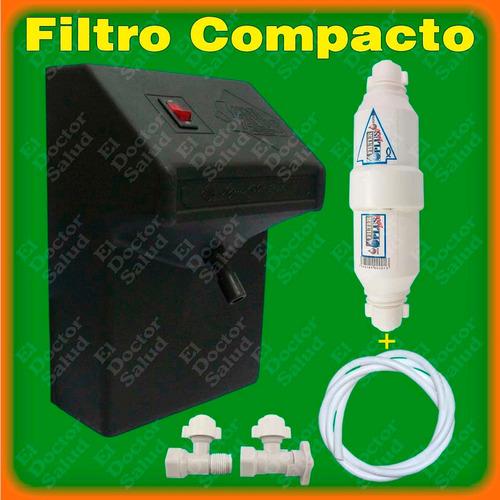 planta ozono ng filtro agua compacto multikit instalacion r4