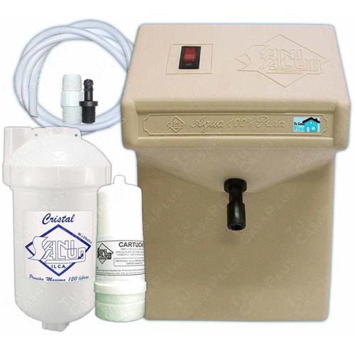 planta ozono purificador de agua filtro cartucho + multkit