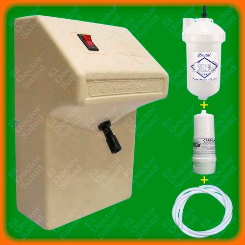 planta ozono sani salud - fija beige+ filtro agua + obsequio