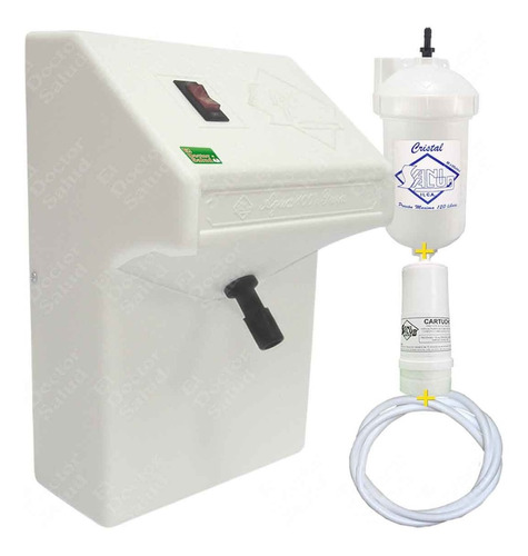 planta ozono sani salud fija bl filtro agua con multikit r4