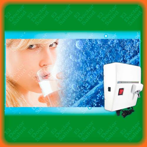 planta ozono trio salud - fija blanca+ filtro agua+ obsequio