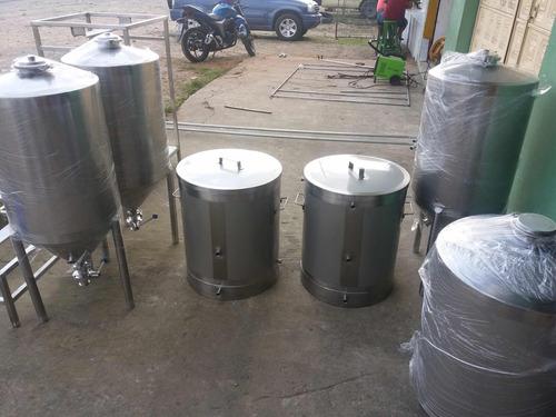 planta para cerveza artesanal  en acero inoxidable 304