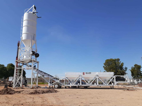 planta para dosificar  concretera movil  48m3 x hr 2020