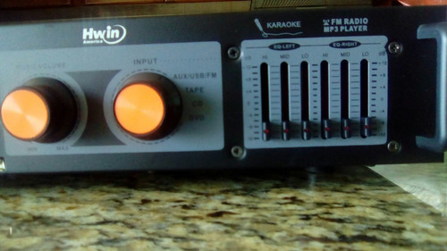 planta para karaoke marca hwin america 120v