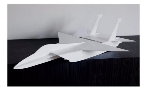 planta pdf caça f-15 3d shock flyer p/ depron +fgrátis+brind
