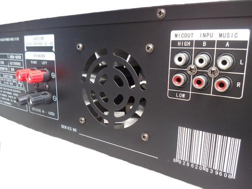 planta power 5000 watts 400 rms p bajos medios, corneta fuer