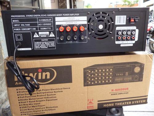 planta power 7000 watts 500 rms p bajos medios, corneta fuer