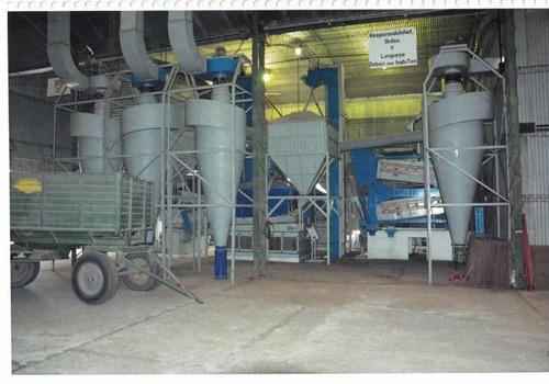 planta procesadora, de acopio y acondicionamiento de semillas s/ la r. n° 8.